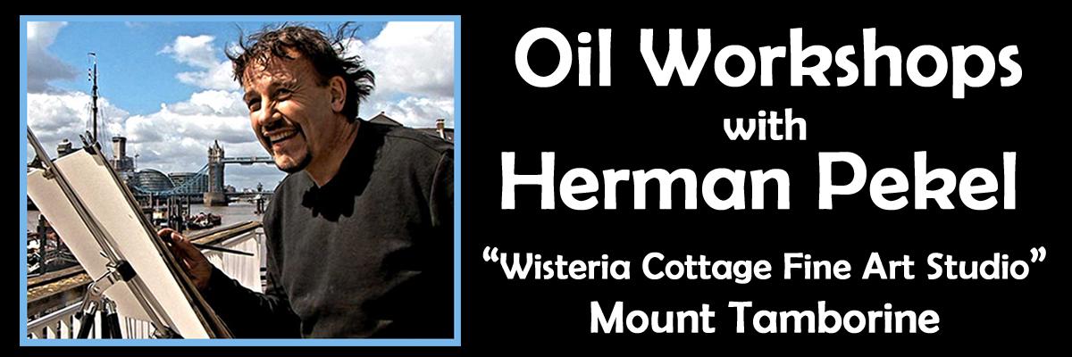 Herman Pekel Oil Workshop Gold Coast Queensland