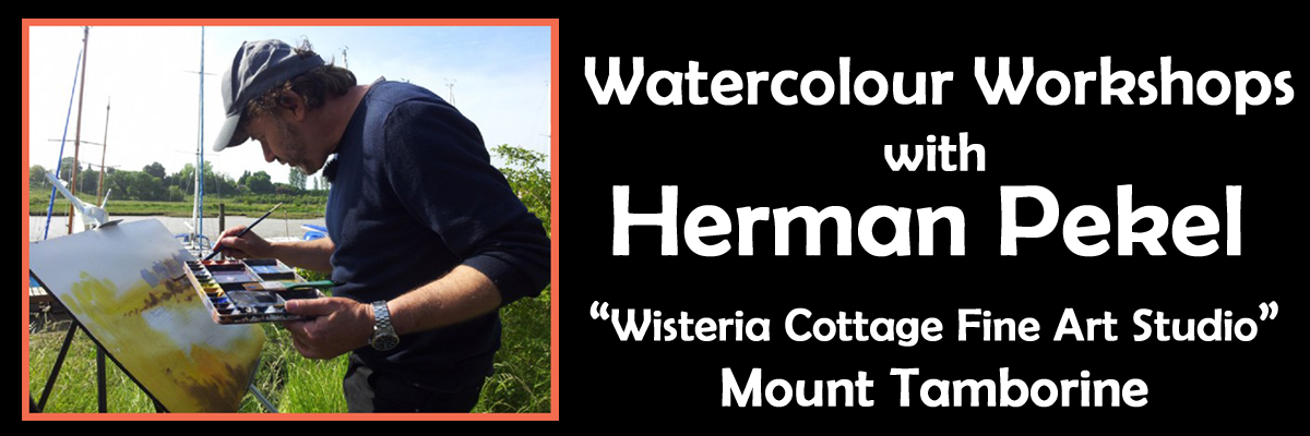 Herman Pekel Watercolour Workshop Gold Coast Queensland