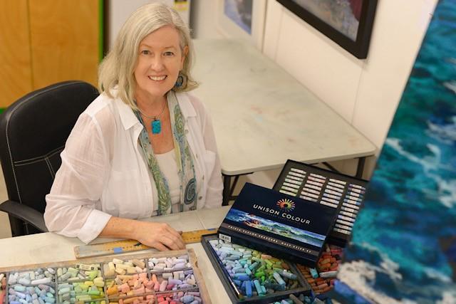 Tricia Taylor Pastel Workshop Gold Coast Queensland